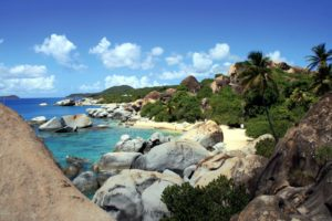 Virgin Gorda beaches and lobsters