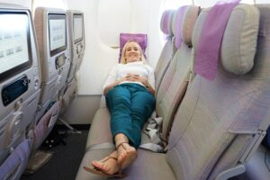 Best Ways to Sit Comfortably in a Long-Haul Flight